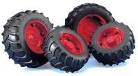 Traktor Spielzeug Räder Set Zwillingsbereifung