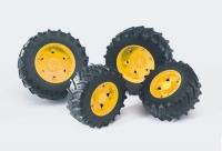Spielzeug für Bruder Traktor Räder