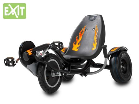 EXIT Triker Rocker black & fire