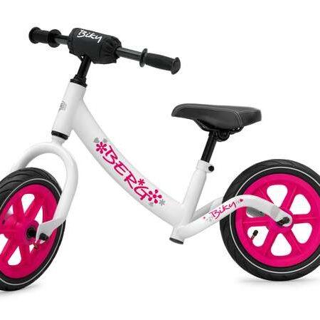 Laufrad rosa weiß berg Toys