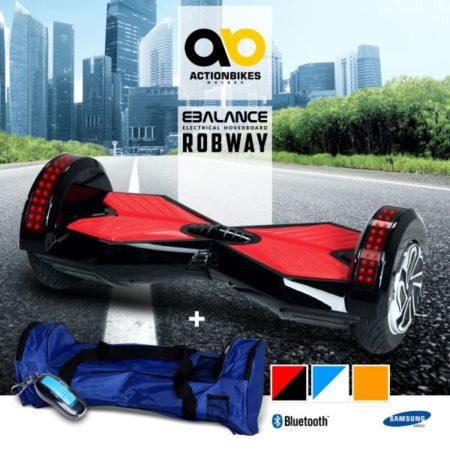 E-Balance Board ROBWAY W2 Hoverboard 8`Reifen